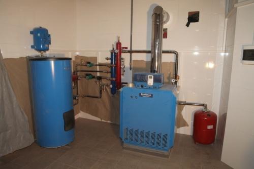 Монтаж напольного газового котла | Монтаж системы отопления