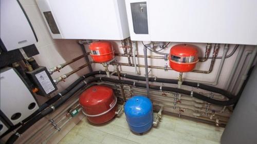 Монтаж газового котла Buderus | Проектные монтажные работы по отоплению