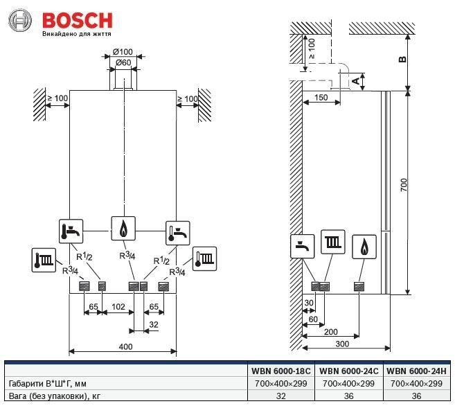 BOSCH GAZ 6000 WBN 6000-24C RN 2