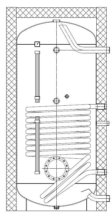 STSOL PSK 1500 R  буферная емкость 1500 литров 3
