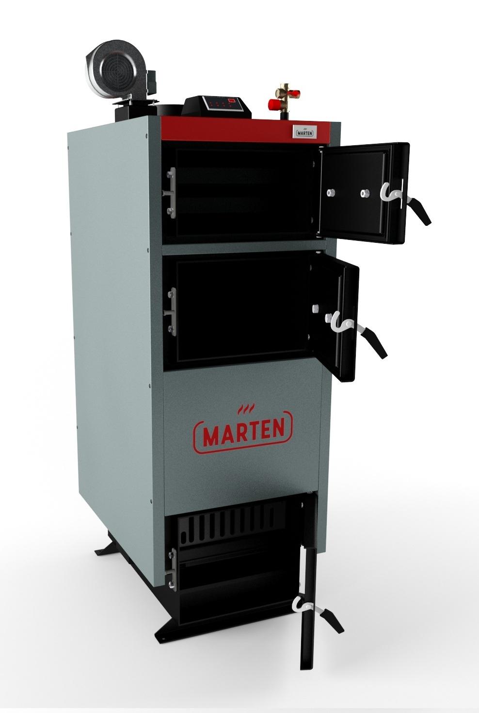 Marten Comfort MC 17 - котел на дровах 2