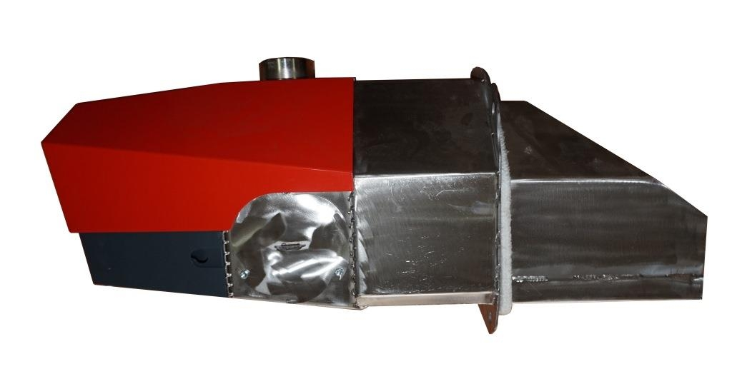 Горелка пеллетная украинского производителя - oxi ceramik 50 1