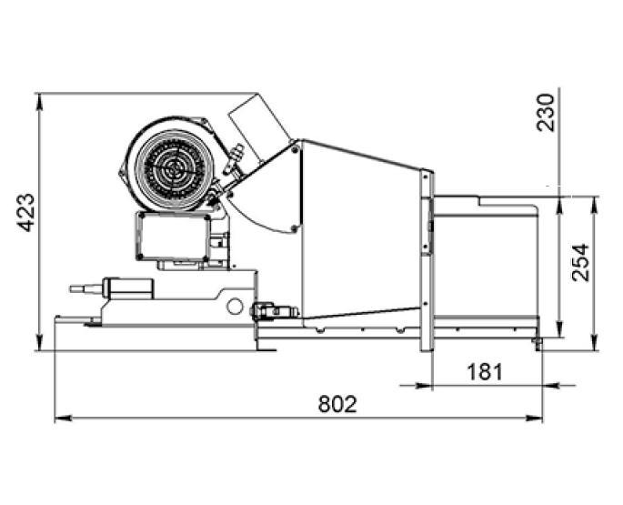 Горелка на пеллетах Биопром AIR PELLET Ceramic 60 кВт 0