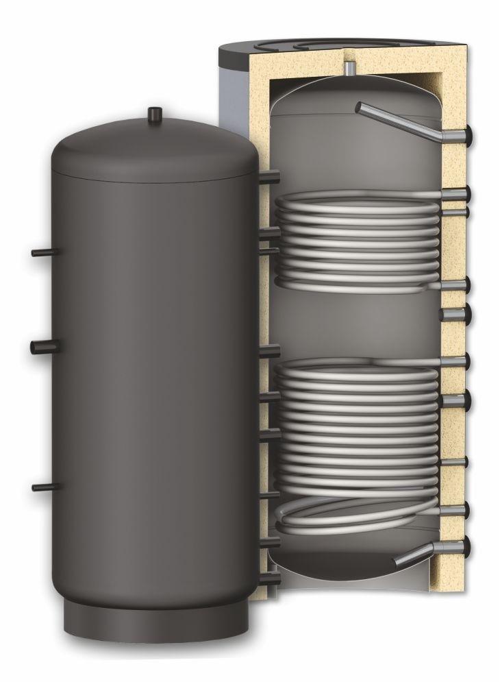 Буферная емкость  с теплообменником 1500 литров Apogey SG(B) 1500 0