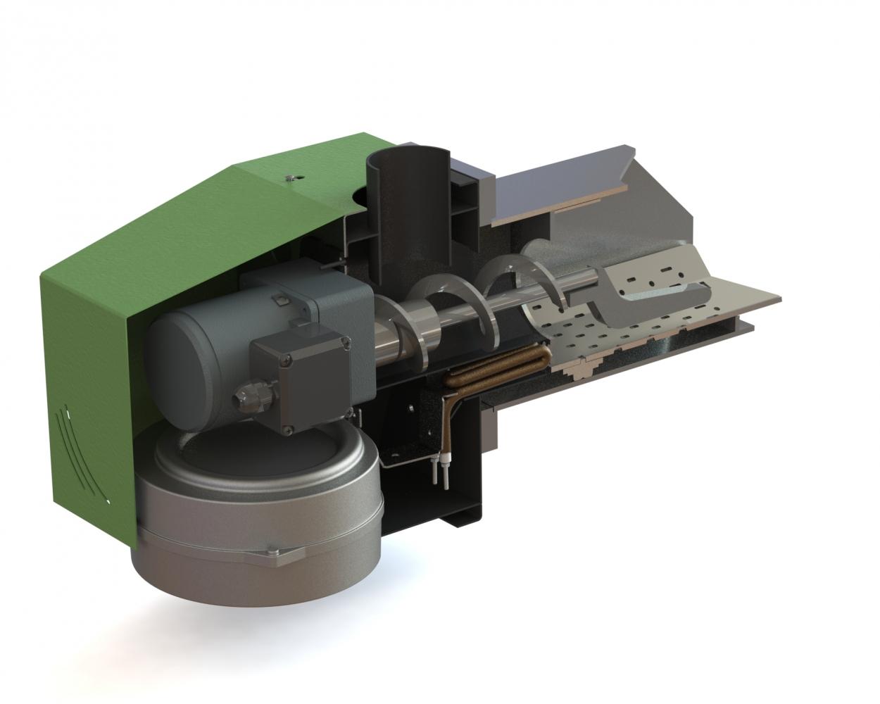 Пеллетная горелка Bioprom AIR Pellet 50 кВт 7