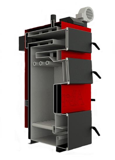 Котел твердотопливный Altep Classic 16 кВт 3