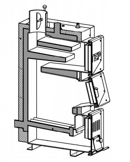 Твердотопливный котел Altep Classic 20 кВт 5