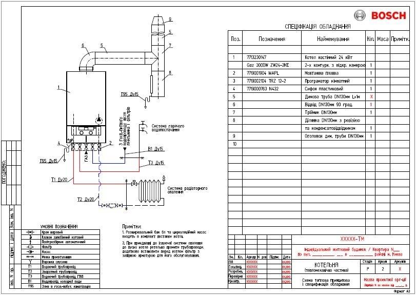 BOSCH GAZ 4000 ZWA24-2K 2