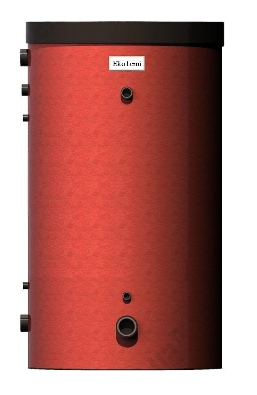 Аккумулирующий бак с змеевиком на 300 литров EcoTerm BS-300T 3