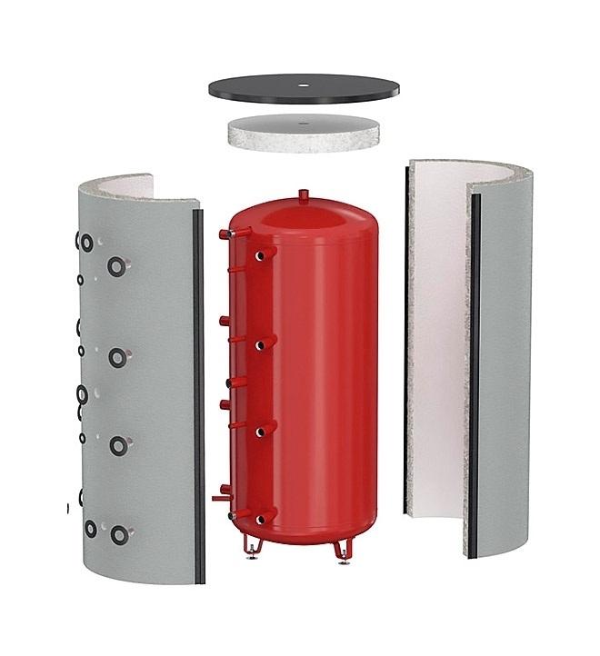 Аккумуляторы тепла 500 литров Украинского производителя EcoTerm BS -500 3
