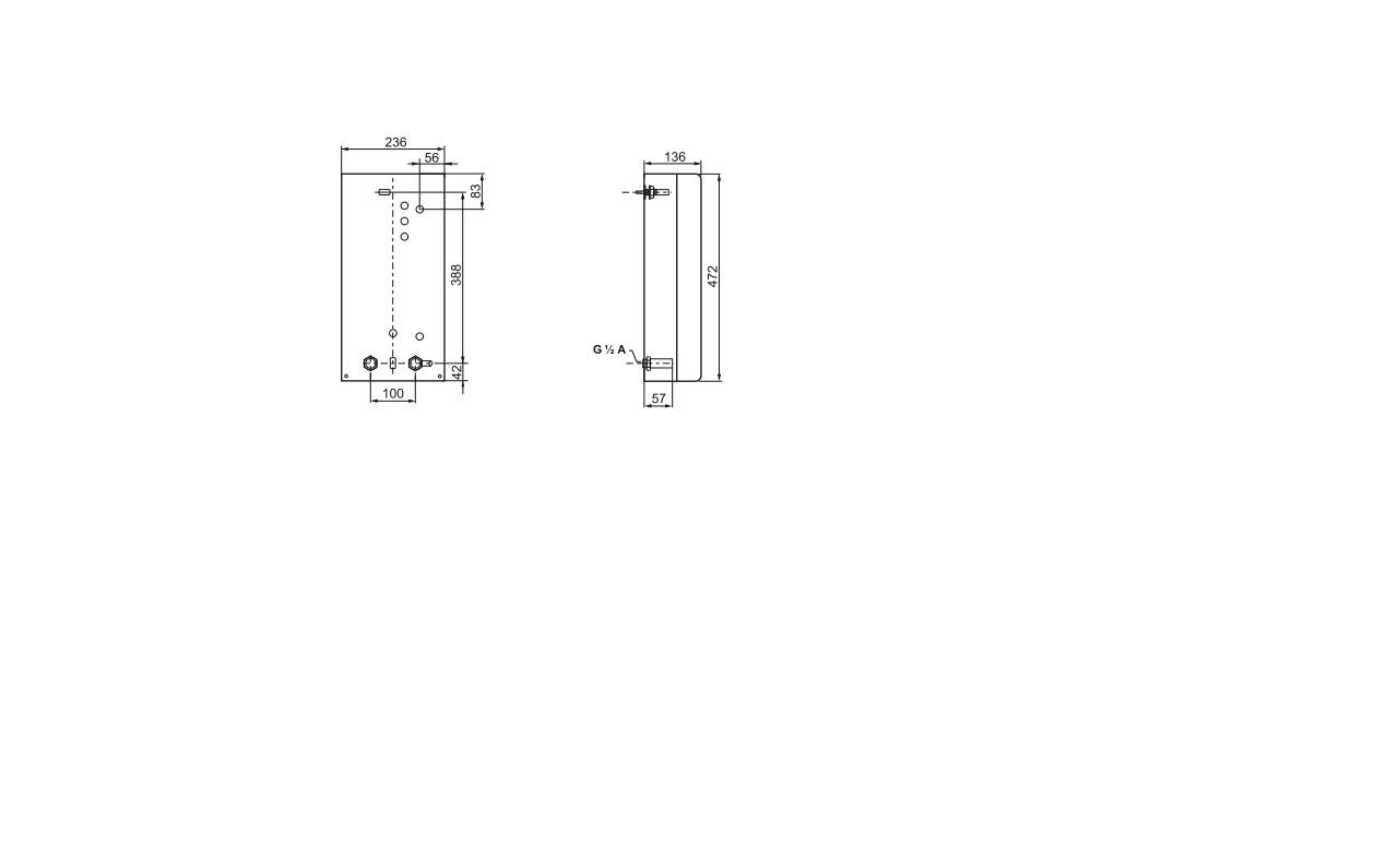 Электрический проточный водонагреватель Bosch TR 1100 24B 1