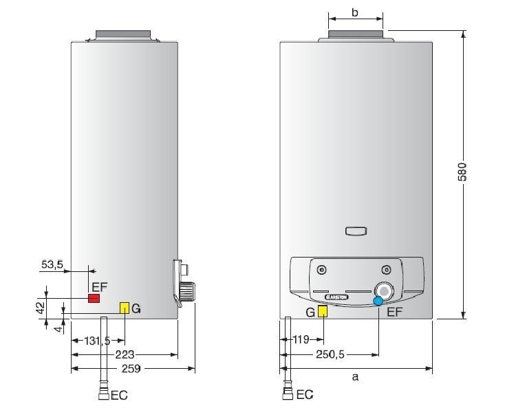 Ariston FAST СF 11 P  газовая колонка 1