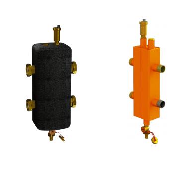 Гидравлическая стрелка в утеплителе 100 кВт 2