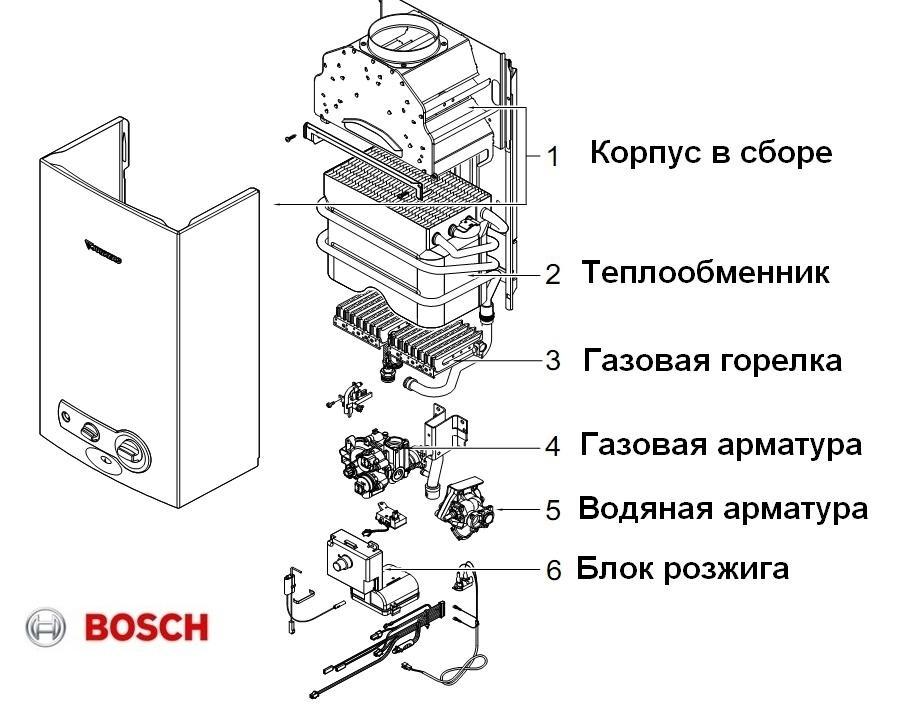 Bosch Therm 4000 BOSCH WR 13-2P 3