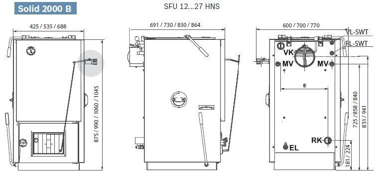 Bosch SOLID 2000 B-2 K45-1 S62 4
