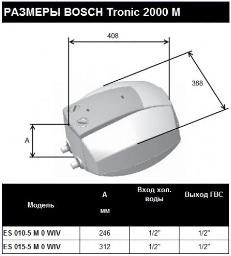 Bosch  Tronic 2000 M ES 010-5 M O WIV-T 2