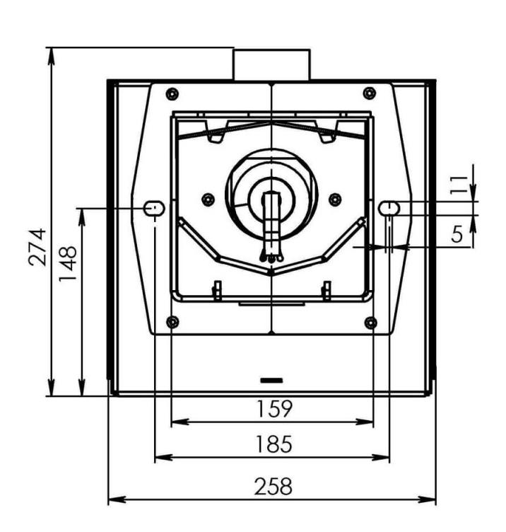 Пеллетная горелка Bioprom AIR Pellet 50 кВт 1