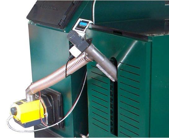 Горелка для твердого топлива мощностью 300 кВт 3