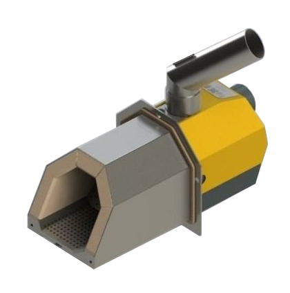 Горелка для автоматической подачи пеллет - Oxi Ceramik75 4