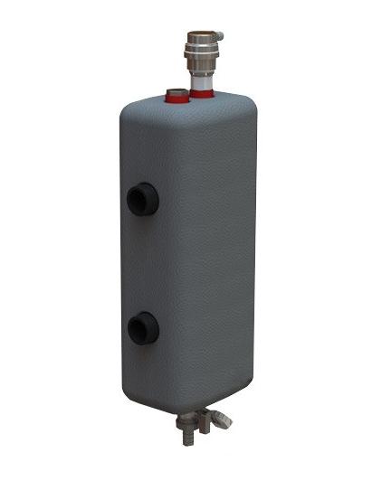 Гидрострелка в утеплителе на 50 кВт 1