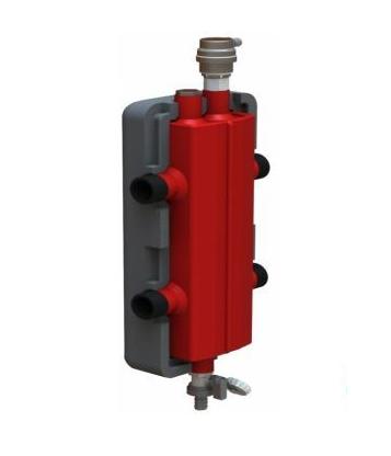Гидрострелка в утеплителе на 50 кВт 3