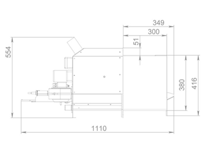 Пеллетная горелка Air Pellet Ceramic 300 кВт 2