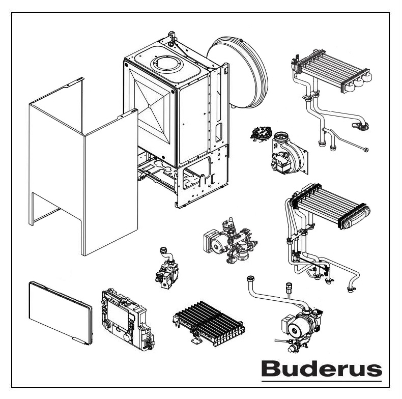Buderus Logamax U042-24K - котел газовый 0