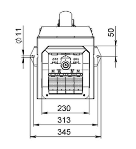 Горелка на пеллетах Биопром AIR PELLET Ceramic 60 кВт 1