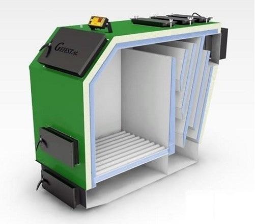 Модульная котельная на твердом топливе 300 - 1000 кВт 0