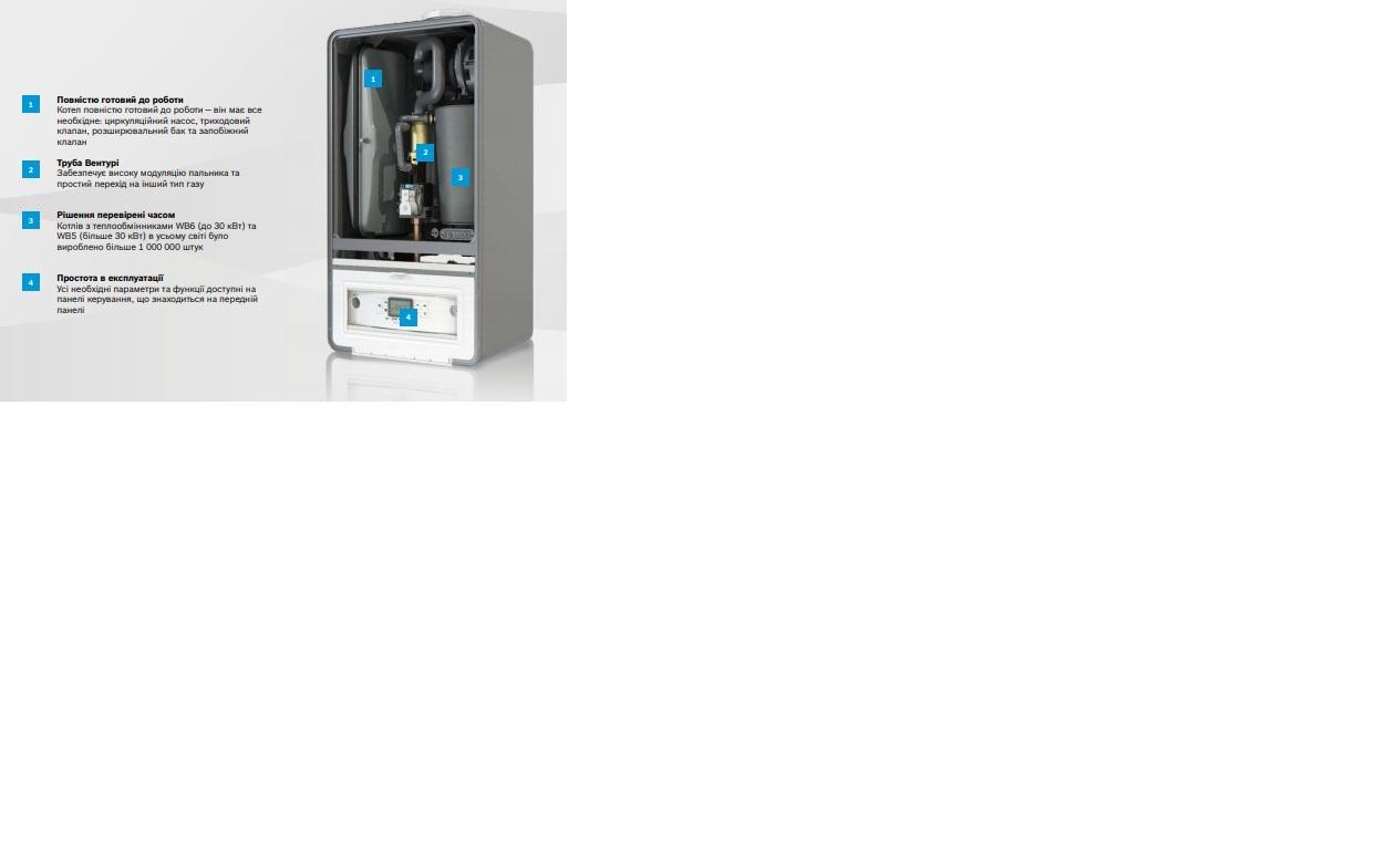 Bosch Condens GC 7000 i W 24/28 C  - конденсационный  двухконтурный котел 4