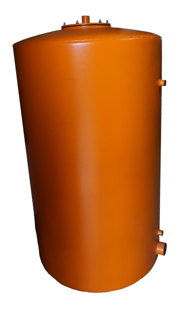 Аккумулирующий бак с змеевиком на 300 литров EcoTerm BS-300T 4