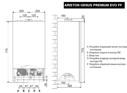 ARISTON CLAS PREMIUM EVO 24 FF 3