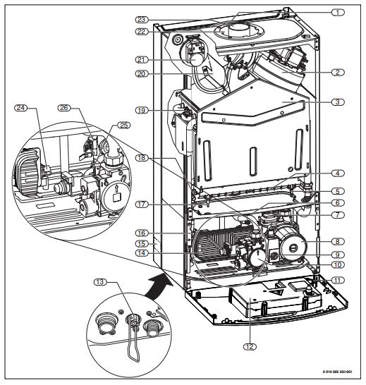 Котел Bosch WBN6000 -28C RN 2