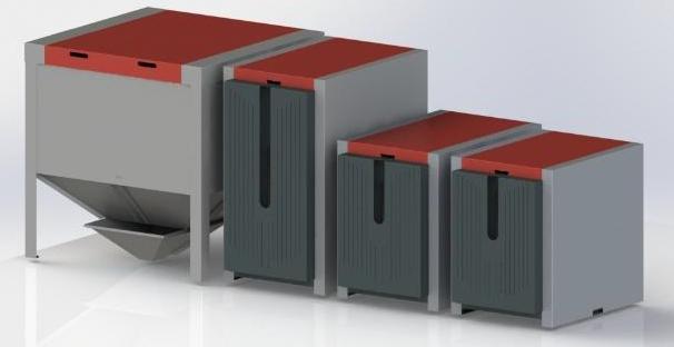 Пеллетные горелки ОКСИ мощностью 30 кВт 0