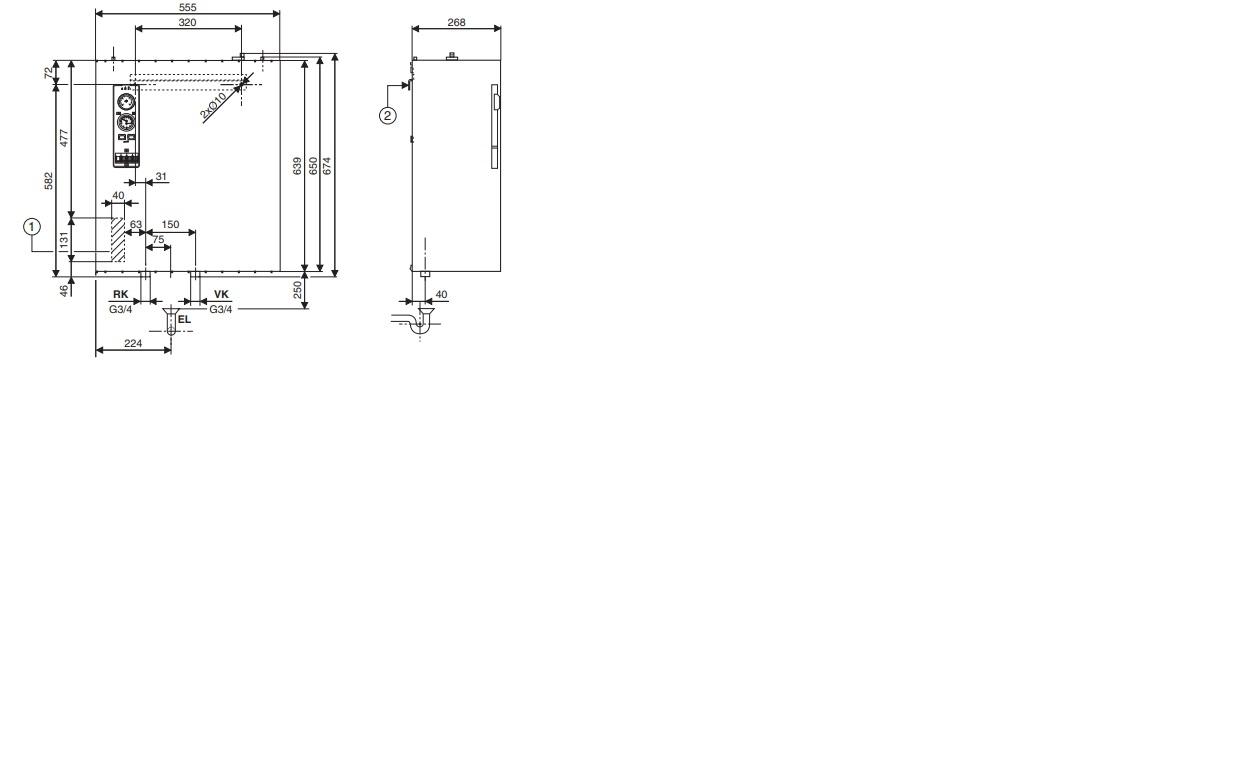 Электрический котел Bosch Tronic 5000 H 60 кВт 4