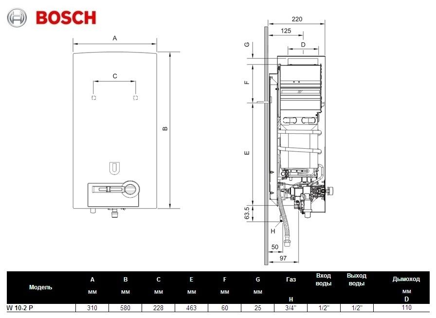 Bosch Therm 4000 BOSCH W 10-2P 2