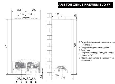Ariston Class Premium Evo 30 FF 2