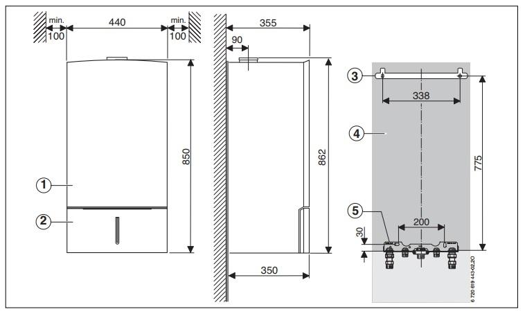 Bosch Condens 7000 W  ZWBR 35-3 A - Конденсационный  двухконтурный котел 3
