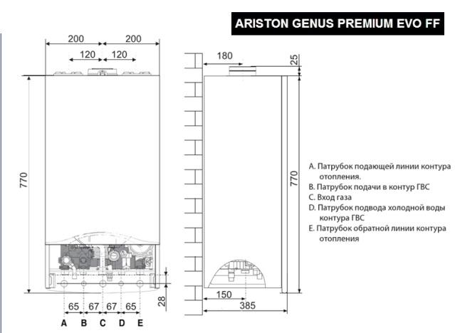 Ariston Genus Premium  Evo 35 FF 2