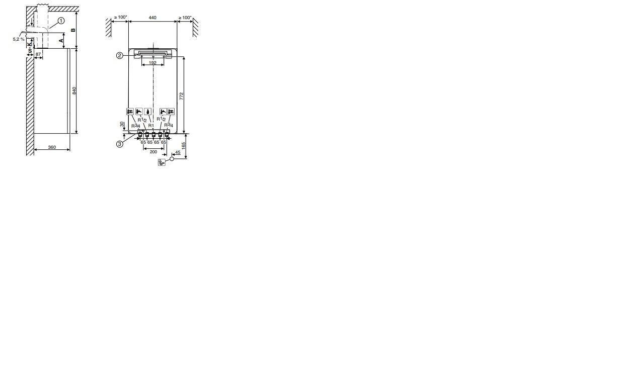 Bosch Condens GC 7000 i W 24/28 C  - конденсационный  двухконтурный котел 5