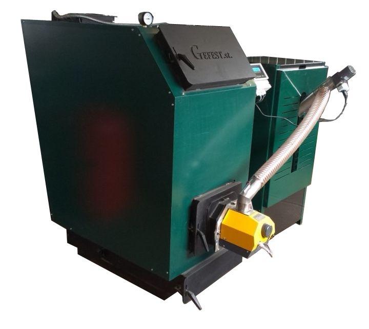 Горелка для твердого топлива мощностью 300 кВт 4