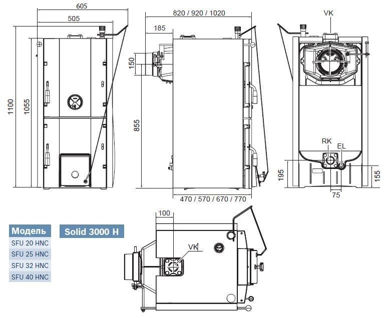 Bosch SOLID 3000H SFU 20 HNC 3