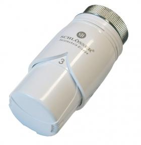 Термостатическая головка SCHLOSSER DIAMANT Plus С белая
