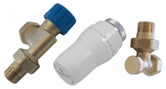 Комплект термостатический аксиальный с термоголовкой 602200084UA