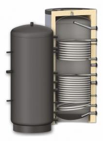 Бак аккумулятор с двумя змеевиками 1000 литров Apogey SG(B) 1000