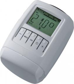 Термостатическая головка электронная програмированная  SCHLOSSER