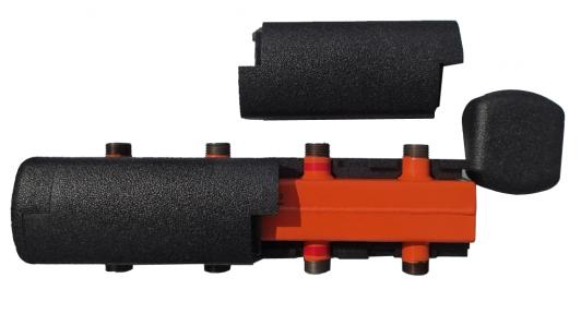Распределительный коллектор на 3 контура КР-К-Т-50-3