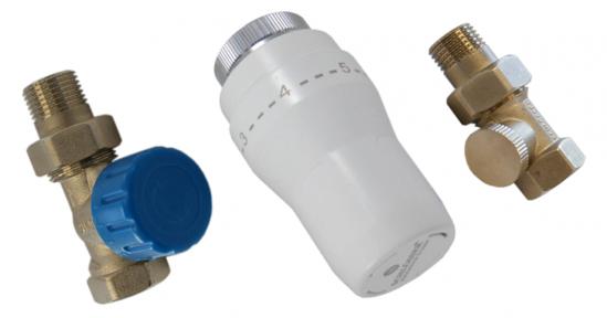 Комплект термостатический прямой с термоголовкой  602300006 UA