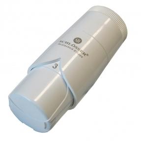 Термостатическая головка SCHLOSSER DIAMANT Plus DZ белая